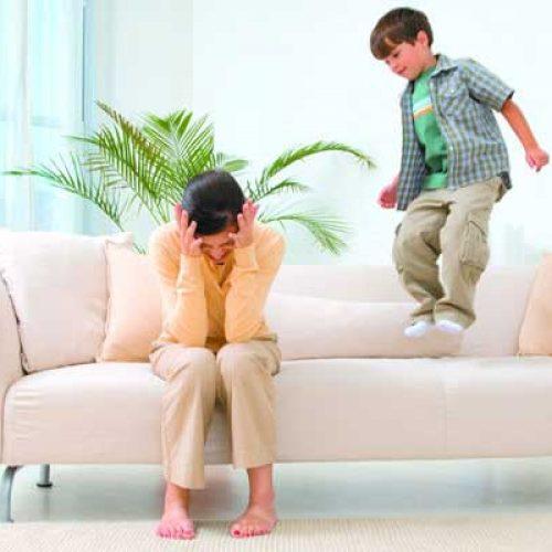 علایم بیش فعالی کودکان